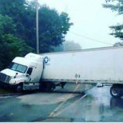 jackknife truck accident